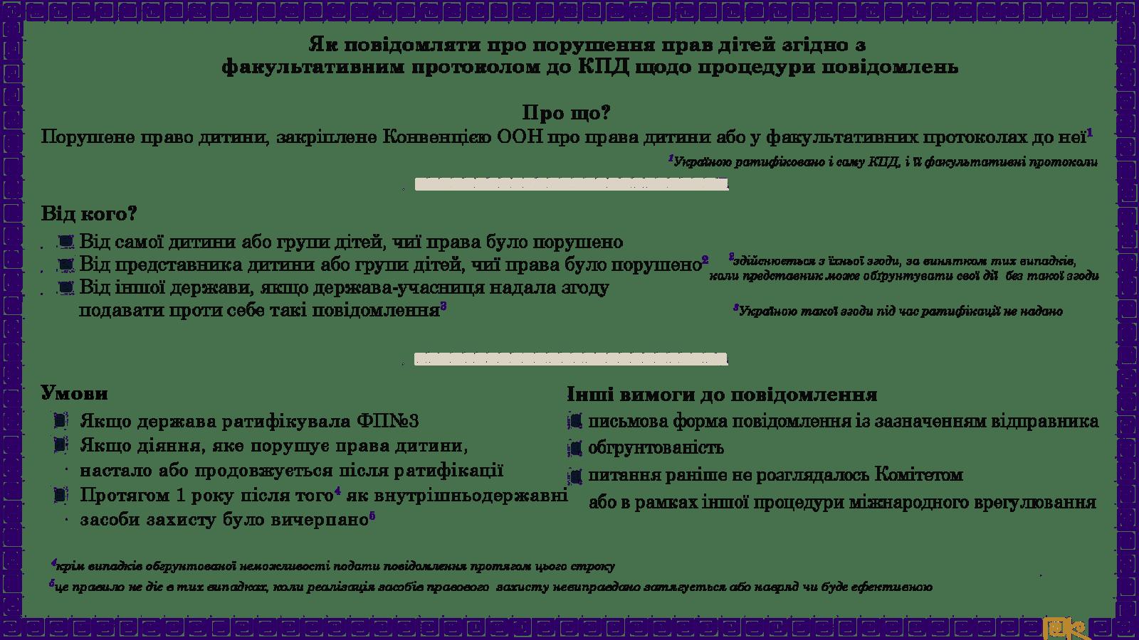 crc communication protocol 1 - Як захистити права дитини, якщо держава цьому не сприяє